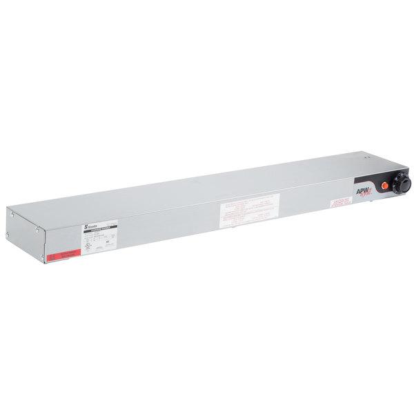 """APW Wyott FD-36H-I 36"""" High Wattage Calrod Food Warmer with Infinite Controls - 208V, 920W"""