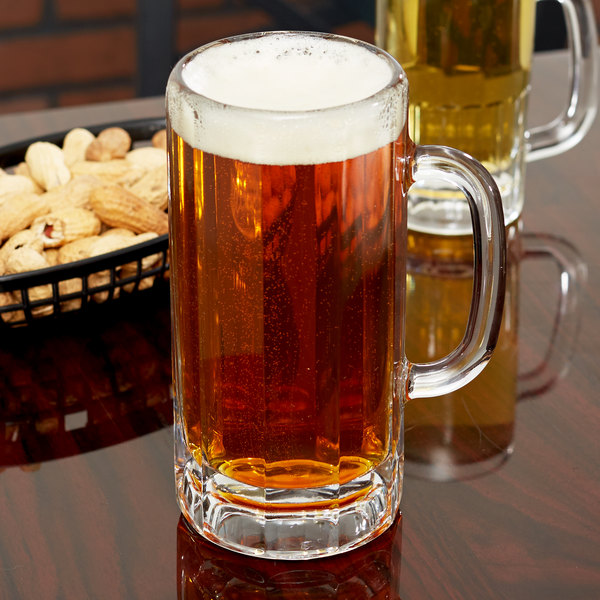 Libbey 5327 22 oz. Paneled Beer Mug - 12/Case Main Image 7