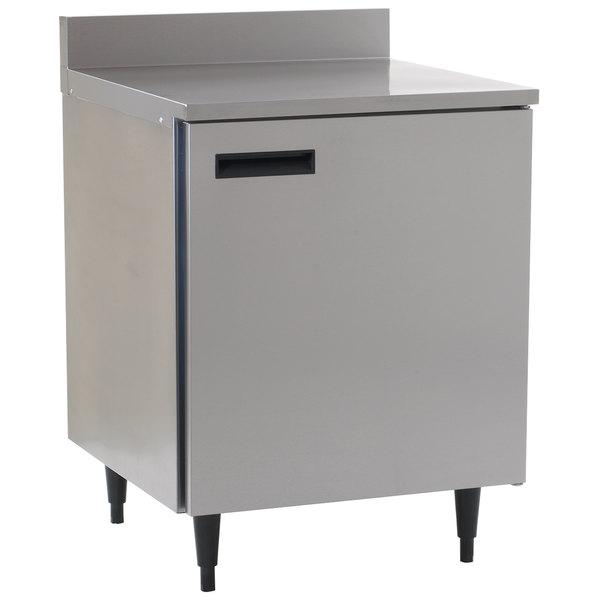 """Delfield 403P 27"""" Single Door Worktop Freezer with 6"""" Legs"""