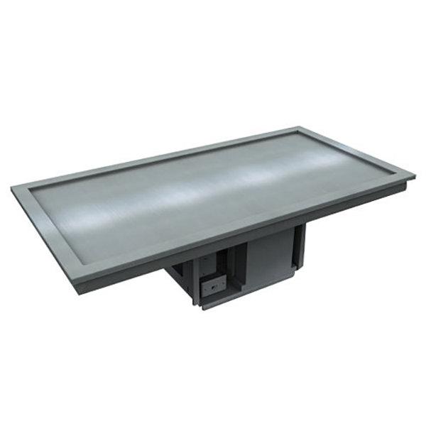 Delfield N8256-STP 56 inch Two Pan Drop-In Frost Top