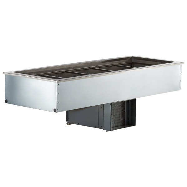 Delfield N8169BP Five Pan Drop In Refrigerated Cold Food Well