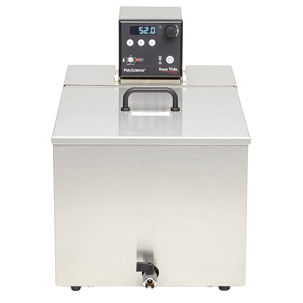 PolyScience 7306AC2D5-S45 45 Liter Sous Vide Professional Classic Series Integrated Bath System - 230V, 1600W