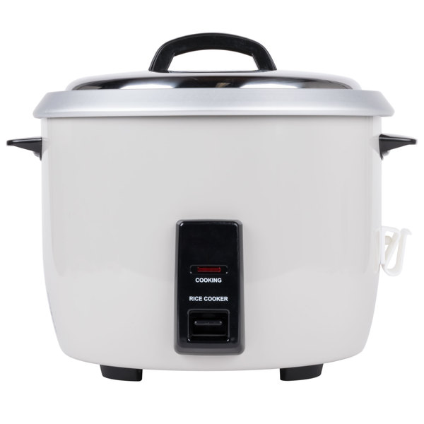 60 Cup (30 Cup Raw) Commercial Rice Cooker - 120V