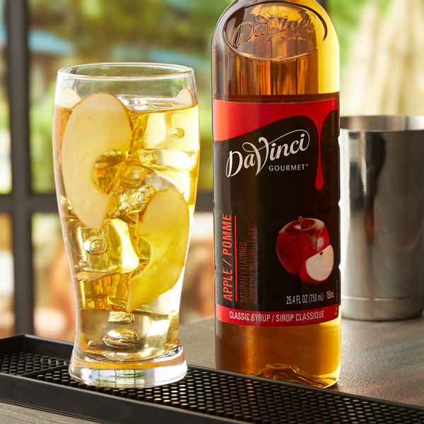 DaVinci Gourmet 750 mL Classic Apple Flavoring / Fruit Syrup Main Image 2