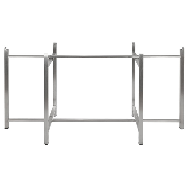 """Bon Chef 50420 Flex-X 72"""" x 30"""" Foldable Stainless Steel Counter Height Table Base Main Image 1"""