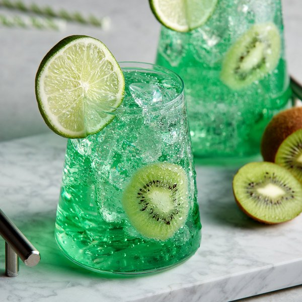 DaVinci Gourmet 750 mL Classic Kiwi Flavoring / Fruit Syrup Main Image 2