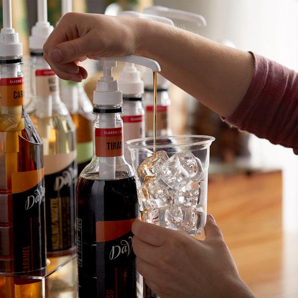 DaVinci Gourmet 750 mL Classic Tiramisu Flavoring Syrup