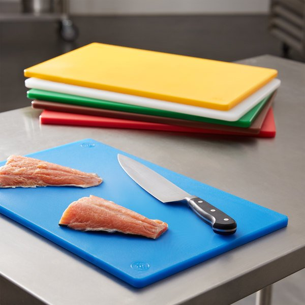 """18"""" x 12"""" x 1/2"""" 6-Board Color-Coded Cutting Board System Main Image 2"""