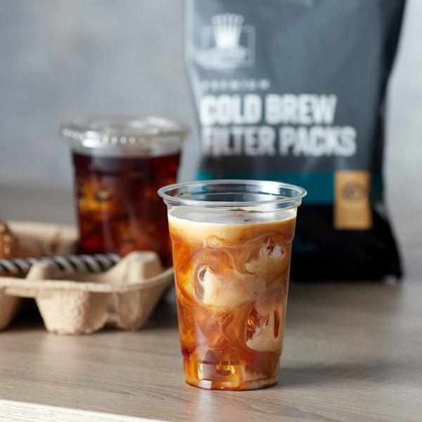Crown Beverages 12 oz. Cold Brew Coffee Filter Pack Bag Main Image 3