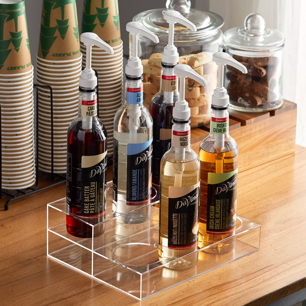 Choice 2 Tier Syrup Bottle Organizer Main Image 2