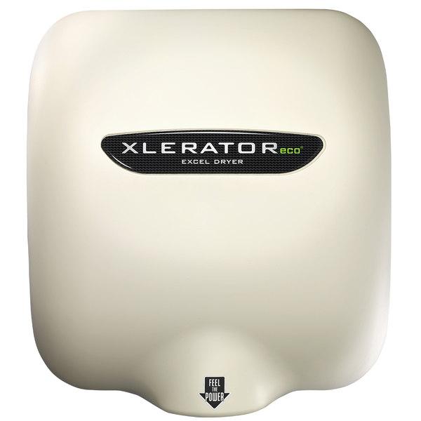 Excel XL-SP-ECO-B XLERATOReco® Bone White Energy-Efficient High-Speed Hand Dryer - 110 / 120V, 500W