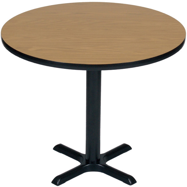 Black Table Height High Pressure Cafe, High Round Tables