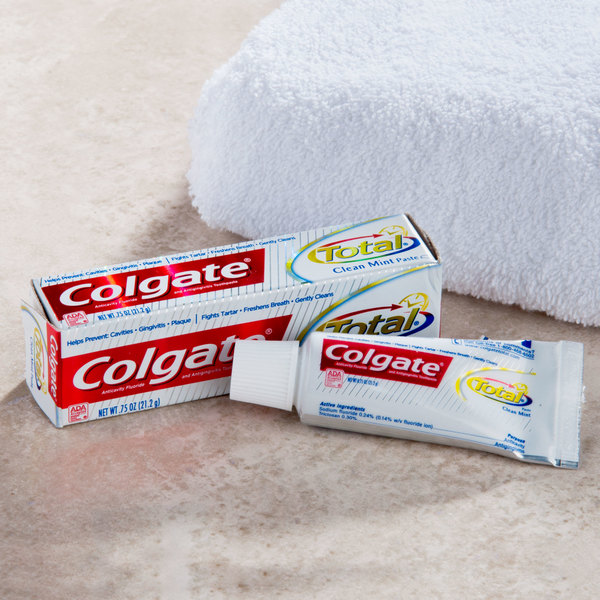 Colgate Total Toothpaste 0.75 oz. Tube - 24/Case