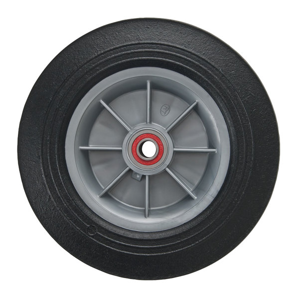 """Magliner 111025 10"""" Solid Rubber Replacement Wheel Main Image 1"""
