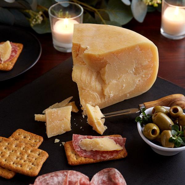Edelweiss Creamery 12 lb. Grass-Fed Raw Milk Aged Gouda Cheese Wheel
