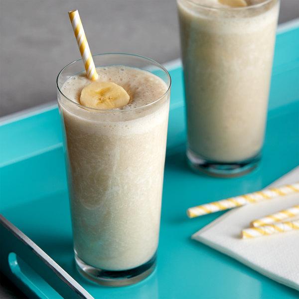 DaVinci Gourmet 750 mL Sugar Free Banana Flavoring / Fruit Syrup Main Image 2