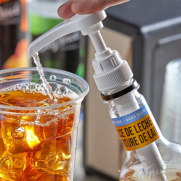 DaVinci Gourmet 750 mL Sugar Free Dulce de Leche Flavoring Syrup Main Image 2