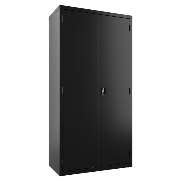 Hirsh Industries 22632 Black Wardrobe Cabinet - 36 inch x 18 inch x 72 inch