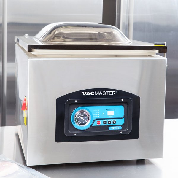 "ARY VacMaster VP320 Chamber Tabletop Vacuum Packaging Machine with 16"" Seal Bar"