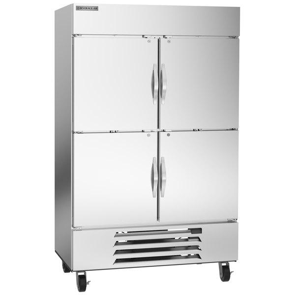 "Beverage-Air HBF49HC-1-HS Horizon Series 52"" Bottom Mounted Solid Half-Door Reach-In Freezer Main Image 1"