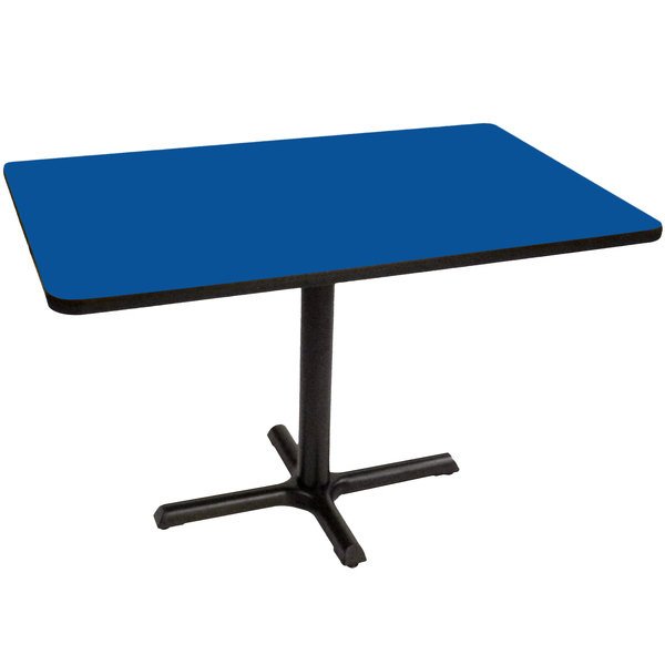 Brilliant Correll Bct3042 37 30 X 42 Rectangular Blue Finish Standard Height High Pressure Cafe Breakroom Table Forskolin Free Trial Chair Design Images Forskolin Free Trialorg