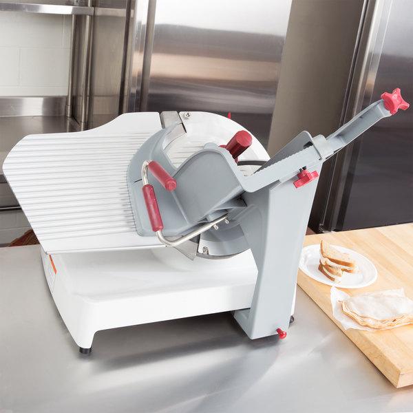 "Berkel X13AE-PLUS 13"" Automatic Gravity Feed Meat Slicer - 1/2 hp Main Image 3"