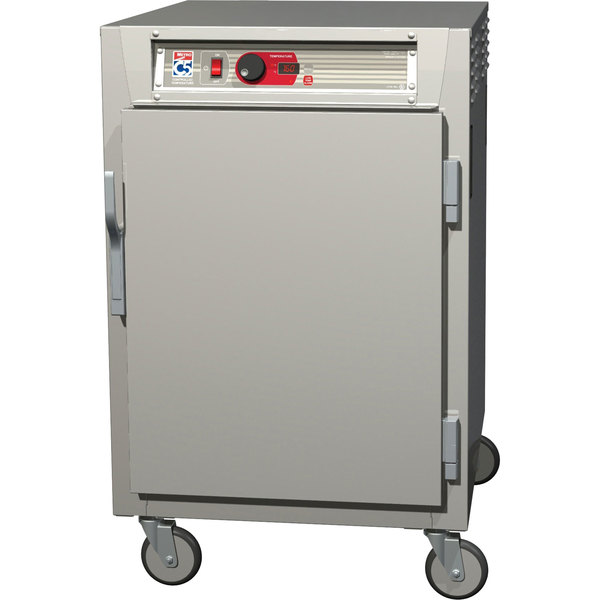 Metro C585-SFS-L C5 8 Series Reach-In Heated Holding Cabinet - Solid Door Main Image 1