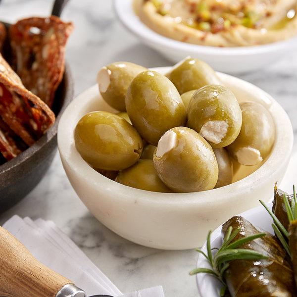 Belosa 12 oz. Feta Cheese Stuffed Queen Olives Main Image 2