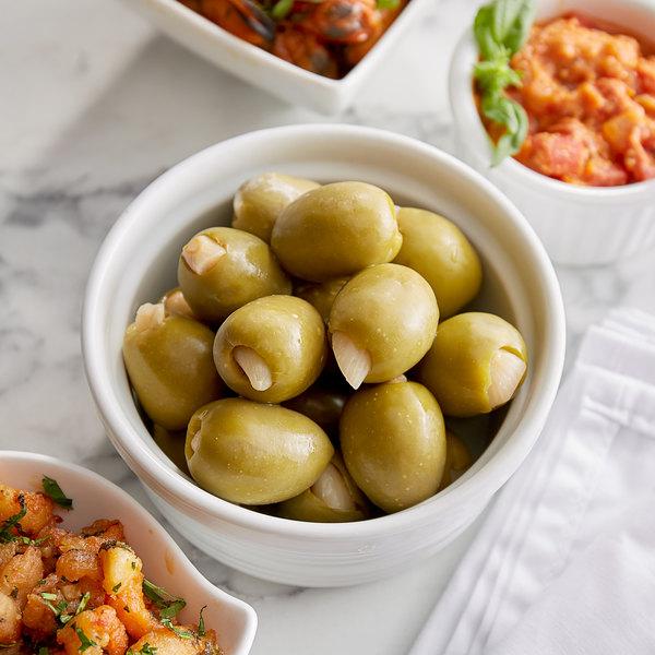 Belosa 12 oz. Garlic Stuffed Queen Olives Main Image 2