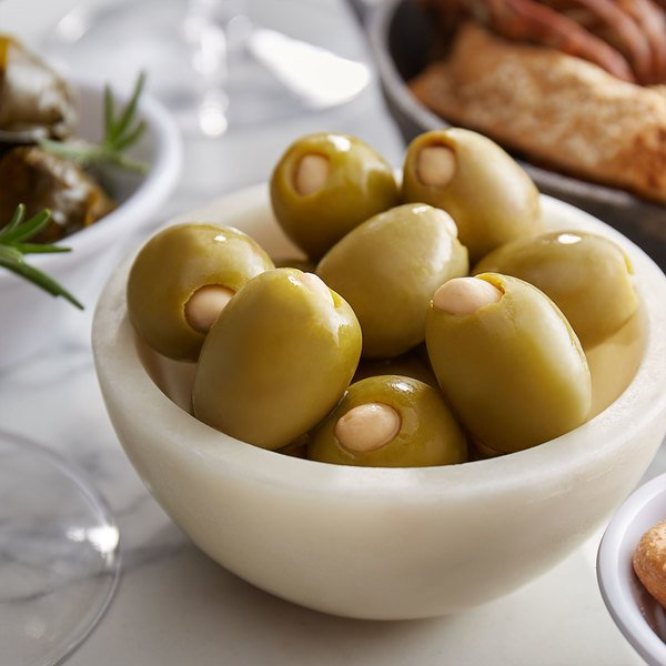 Belosa 12 oz. Almond and Jalapeno Stuffed Queen Olives