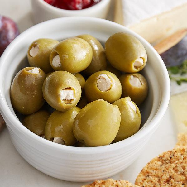 Belosa 32 oz. Bleu Cheese Stuffed Queen Olives