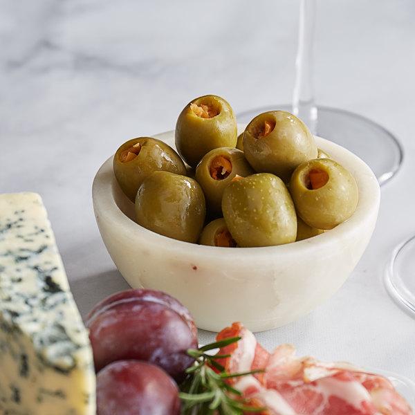 Belosa 12 oz. Habanero Pepper Stuffed Queen Olives Main Image 2