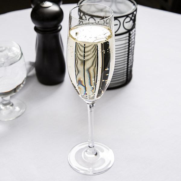 Chef & Sommelier D0796 Cabernet 8 oz. Flute Glass by Arc Cardinal - 24/Case