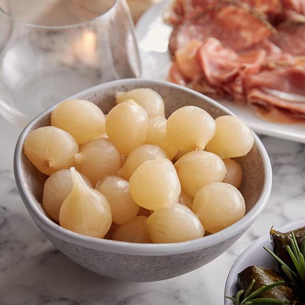 Belosa 32 oz. White Pearl Cocktail Onions