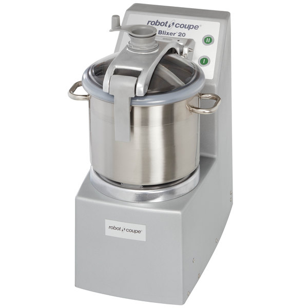 Robot Coupe Blixer 20 Food Processor with 20 Qt. Stainless Steel Bowl and Two Speeds - 5 1/2 hp