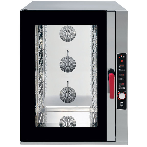 Axis AX-CL10D Full Size 10 Pan Combi Oven with Digital Controls - 208/240V, 3 Phase Main Image 1