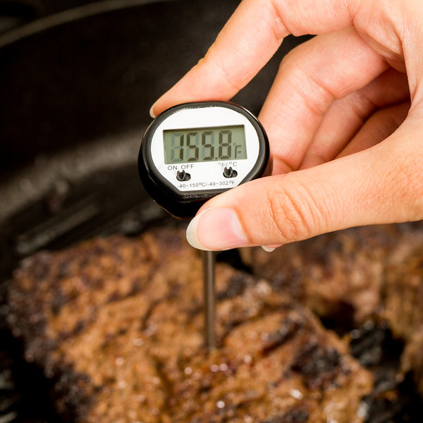 """4 3/4"""" Instant Read Digital Pocket Probe Thermometer Main Image 5"""