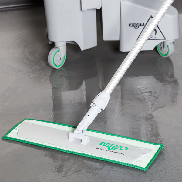 """Unger SV40G 18"""" Damp Mop Pad Holder for DD40 and DV40 Series Mop Pads"""