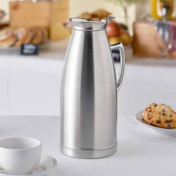 Choice 68 oz. Stainless Steel Thermal Server / Carafe Main Image 3