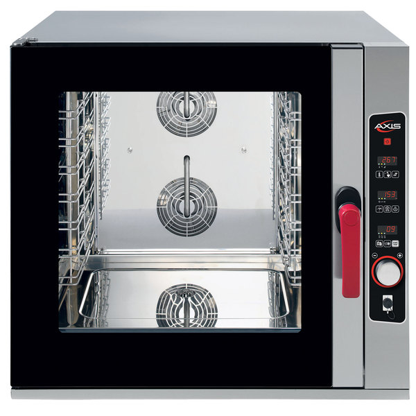 Axis AX-CL06D Full Size 6 Pan Combi Oven with Digital Controls - 208/240V, 3 Phase