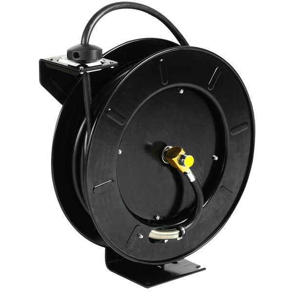 Equip By Tu0026S 5HR 242 01 GH Hose Reel With Garden Hose Adapter And Spray  Valve ...