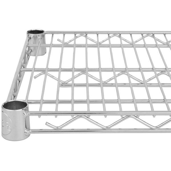regency 14 x 72 nsf chrome wire shelf - Chrome Wire Shelving