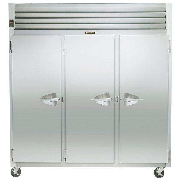 """Traulsen G31311 77"""" G Series Solid Door Reach in Freezer with Left / Left / Right Hinged Doors"""