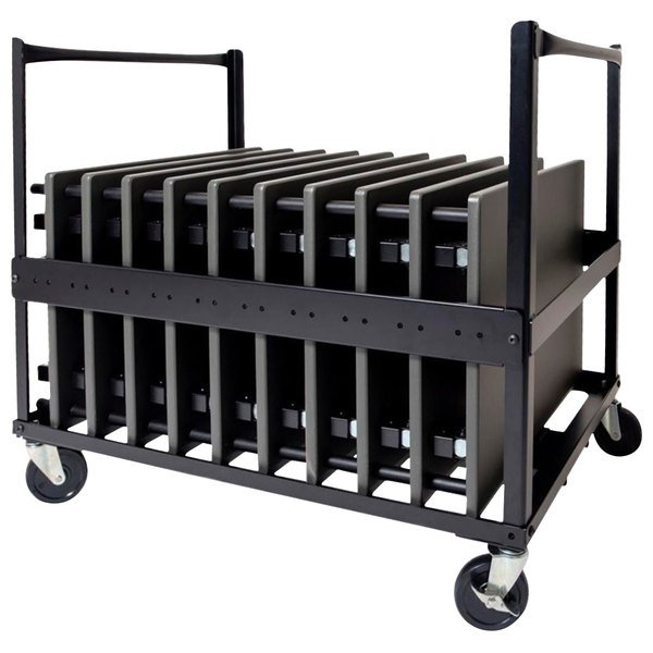 Luxor STUDENT-D-DOLLY Black Steel Desk Dolly for STUDENT-D Main Image 1