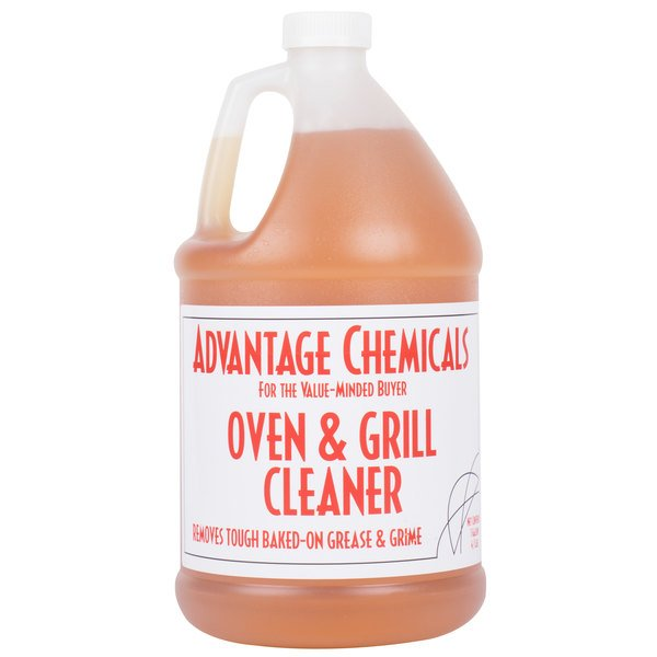 enjoy the look of a clean oven without leftover residue when you use this advantage chemicals 1 gallon container of oven and grill cleaner