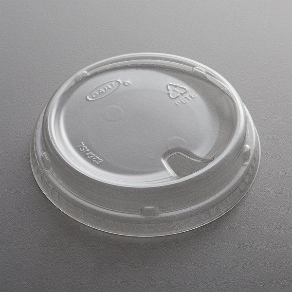 Plastic Cold Cup Strawless Lid Dart Solo Prima 1000 Case