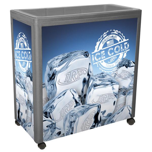 IRP Gray Avalanche 300 Mobile 112 Qt. Cooler Merchandiser