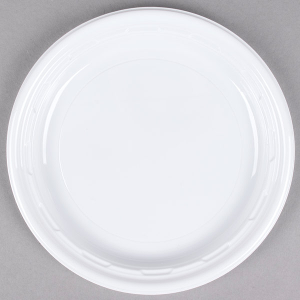 ... and economical this plate provides the perfect solution for barbecues parties and quick-serve restaurants that need a sturdy disposable plate. & Dart 6PWF 6\
