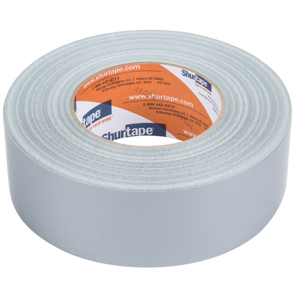 "Silver Duct Tape 2"" x 60 Yards (48 mm x 55 m) - General Purpose High Tack"