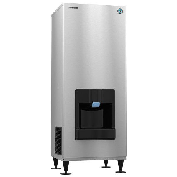 Hoshizaki DKM-500BAJ Serenity Series 30 inch Air Cooled Crescent Ice Machine and Dispenser - 115V; 1 Phase; 545 lb.